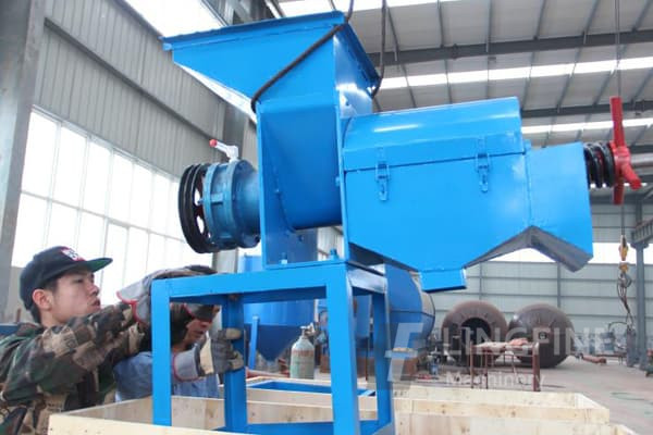 2tph palm oil extraction machine is installing in liberia